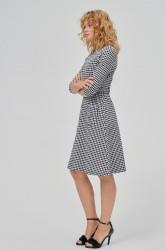 Kjole Perry Dogtooth Dress