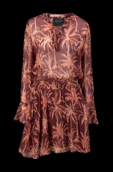 Kjole Viscose Printed Dress