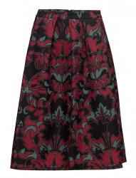 Knee Length Structured Skirt