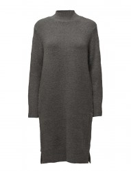 Knit Dress With Slits At Side
