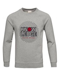 Knowledge Cotton Apparel 30345 W/Application (GRÅ, LARGE)