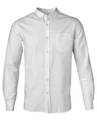 Knowledge Cotton Apparel Oxford Skjorte 90312 (HVID, XXLARGE)