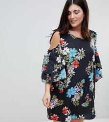 Koko Cold Shoulder Printed Dress - Multi