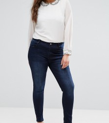 Koko Plus Skinny Jeans - Blue