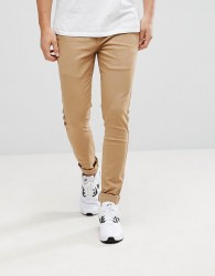 Kronstadt Stretch Chino Super Slim Trousers - Green