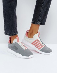 Kswiss Generation K Icon Knit Trainers In Grey - Grey