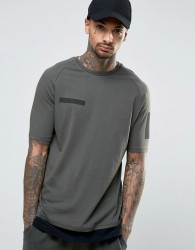 Kubban Layered T-Shirt - Green