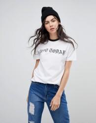 Kubban Not Today Print T-Shirt - White