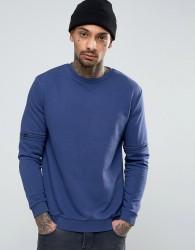 Kubban Sweater with Sleeve Zips - Blue