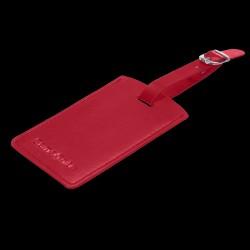 Kuffertmærke Rød