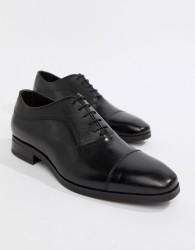 Kurt Geiger London Austin Leather Oxford Shoes - Black