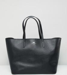 Kurt Geiger Saffiano leather tote shopper bag - Black
