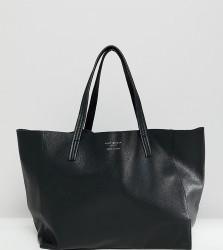 Kurt Geiger Violet black leather soft tote shopper bag - Black