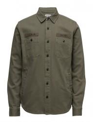 Labour 4 Pockets Shirt Herringbone