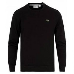 Lacoste Crew Neck Sweatshirt Noir