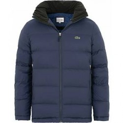Lacoste Down Hooded Jacket Marine