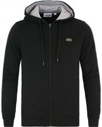 Lacoste Full Zip Hoodie Sweatshirt Noir men 3 - S Sort