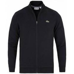 Lacoste Full Zip Sweater Black