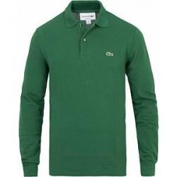 Lacoste Long Sleeve Original Polo Green
