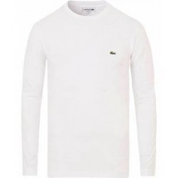 Lacoste Long Sleeve Tee White