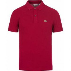 Lacoste Slim Fit Polo Bordeaux Red