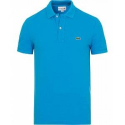 Lacoste Slim Fit Polo Ibiza Blue