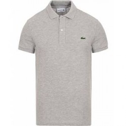 Lacoste Slim Fit Polo Piké Silver Chine