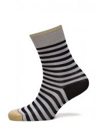Ladies Anklesock, Cotton Resort Stripe Socks