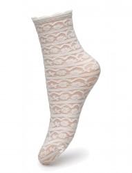 Ladies Den Anklesock, Lace Sock 25