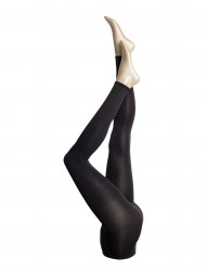 Ladies Den Leggings, Opaque Leggings 3d 80den