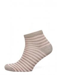 Ladies Sock W. Lurex Stripes