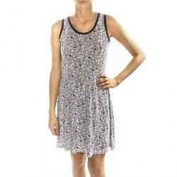 Lady Avenue Soft Bamboo Short Nightdress - Pattern-2 - Medium