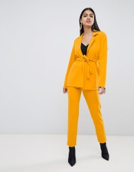 Lasula cigarette trouser in yellow - Yellow
