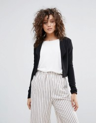 Lasula Cropped Blazer - Black