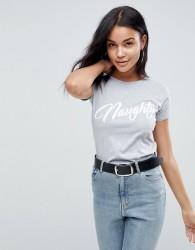 Lasula Naughty T-Shirt - Grey