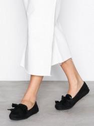 Lauren Ralph Lauren Bayleigh Flats Loafers Sort