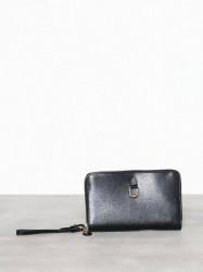 Lauren Ralph Lauren Dblzp Phn Wr-Wristlet-Medium Håndtaske Black
