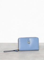 Lauren Ralph Lauren Dblzp Phn Wr-Wristlet-Medium Håndtaske Blue