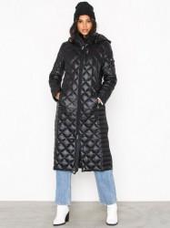 Lauren Ralph Lauren Maxi Pkb Dwn-Jacket Dunjakker Black