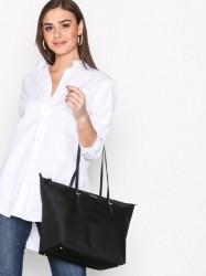 Lauren Ralph Lauren Medium Tote Håndtaske Sort