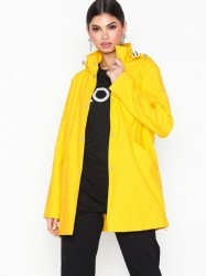 Lauren Ralph Lauren Pu Slicker-Synthetic-Coat Regnjakker Gul