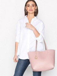 Lauren Ralph Lauren Reversible Tote Medium Håndtaske Rose