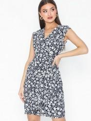 Lauren Ralph Lauren Rodya-Cap Sleeve-Day Dress Tætsiddende kjoler