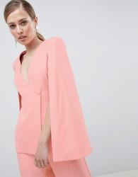 Lavish Alice Asymmetric Blazer - Pink