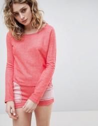Lazy Days Coral Orange Short Pyjamas - Orange