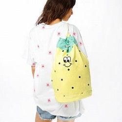 Lazy Oaf Bag - Pineapple Duffle