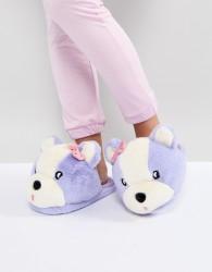 Lazy Oaf Teddy Slippers - Multi
