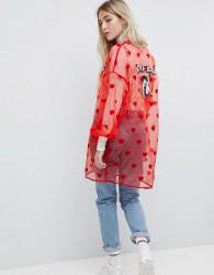 Lazy Oaf X Betty Boop Kimono - Pink