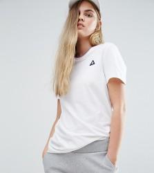 Le Coq Sportif Boyfriend Tricolores Ringer T-Shirt - White