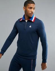 Le Coq Sportif Half Zip Sweatshirt - Navy